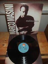 "MARCO MASINI ""Malinconoia"" LP RICORDI ITA 1991 - INNER"