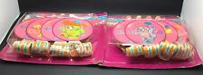 Vintage Popples Noice Maker Blowouts Pink Round 2 Packs Sealed 12 Pieces