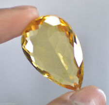 51 CTS EXCELENTE CITRINO NATURAL CERTIF - Natural HUGE Yellow Citrine Brazil