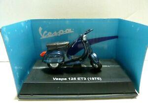NIB New-Ray 1976 Vespa 125 ET3Scooter 1:32 Diecast Model