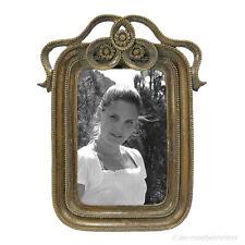 Jugendstil Bilderrahmen Fotorahmen Bild 10x15 Rahmen Gold Resin Nostalgie Antik