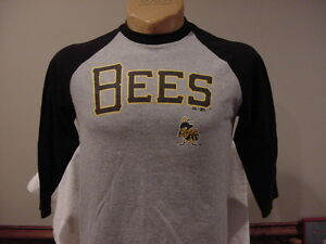 AWESOME Salt Lake Bees Youth Sz Lg 3/4 Sleeve Jersey Style Shirt, VERY COOL!