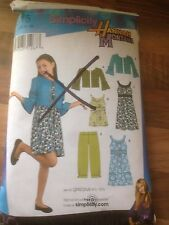 SIMPLICITY Hannah Montana sewing pattern AGE 16 girls  (3515)