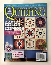 QUILTING American Patchwork, original PATTERN still attached, June 2016