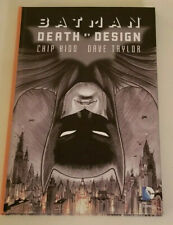 BATMAN: DEATH BY DESIGN~BY KIDD & TAYLOR  DC HARD COVER DELUXE EDITION-BRAND NEW