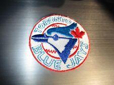 """Vintage 1980's Toronto Blue Jays Old Logo 2 1/8"""" Round Patch"""