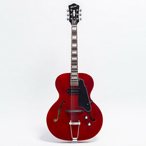 GROTE RED Hollow Body Jazz Electric Guitar GRWB-ZTTR
