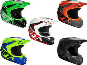 Shift MX Racing Assault Race Helmets Dirt Bike Off-Road MX/ATV/UTV/MTBike Adult