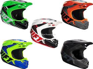 Shift MX Racing Assault Race Helmets Dirt Bike Off-Road MX/ATV/UTV/MTBike Adult