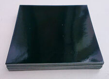58 X BLACK GLOSS TILE TRANSFERS STICKERS 152mm/6inch