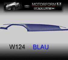 Mercedes W124 200-500E 124 Armaturenbrett Cover Abdeckung dashboard blau blue