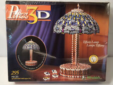 Puzz 3D Tiffany Lamp Puzzle  295 Pieces *NEW* Lights Up!