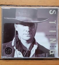 Sting - 'This Cowboy Song' UK CD single jewel case edition