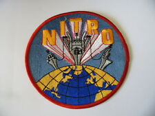 INSIGNE PATCH US NAVY USN NITRO / MARINE USA