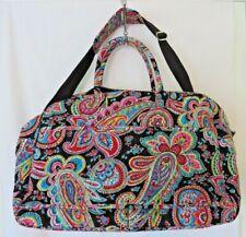 Vera Bradley Grand Traveler Bag 17371 Trolley Sleeve Parisian Paisley  #4755