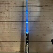 Disney 2008 Lucasfilms Star Wars Jedi Mickey Mouse Blue Lightsaber With Sounds