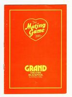 GRAND THEATRE BLACKPOOL 1981 BARBARA WINDSOR BANNISTER SMETHURST 1st New Season