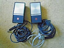 VINTAGE NATIONAL PANASONIC RS-755S REEL TO REEL MICROPHONES