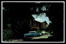 Santa Maria Inn Santa Maria California Old Cars Postcard