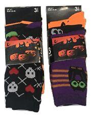 6 Pairs Women Halloween Multi Colour Spooky Design Socks