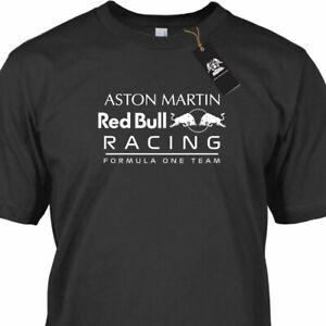 T-Shirt Aston Martin Red Bull Racing F1 Team Motorsport Adult Cotton Tee New