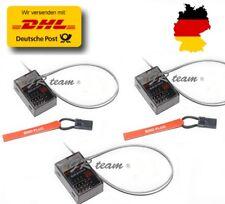 3X SR3100 Empfänger Spektrum Surface DSM2 3Ch RC DX3C DX3S DX4C... 2,4GHz HG72m3