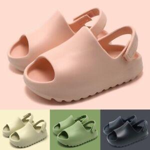 Summer Children Kids Thick-soled Sandals And Open Toe Slippers Anti-Slip Slipper
