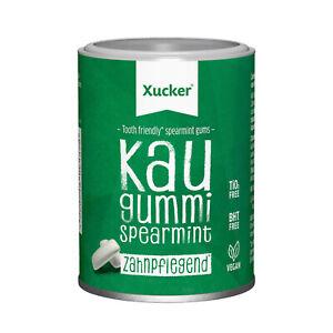 Xylit Kaugummi von Xucker - Xummi Spearmint NEU ohne Titandioxid Menge wählbar