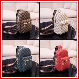 Womens Backpack Plaid Design Luxury Fashion Shoulder Purse Messenger Bag Handbag