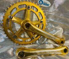 Takagi Ultra Dyno 3 Pc Crankset Old School BMX GOLD (Mongoose, GT, Hutch) 170 44