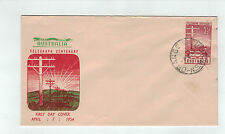 1953 Telegraph Centenary First Day Cover (Pre Decimal) / Guthrie