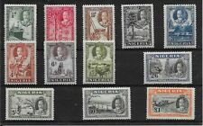 NIGERIA SG34/45 1936 DEFINITIVE SET MTD MINT