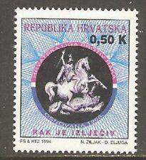 Croatia 1994 Tax Stamp Medicine St George Dragon