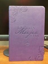 La Biblia Mujer de Hoy - Piel Especial Púrpura  RIENA VALERA 1960