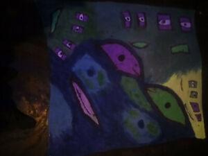Wandbilder Alu Acryl Latexpapier Fine Art Akt Foto nackte Frau auf dem Bett A143