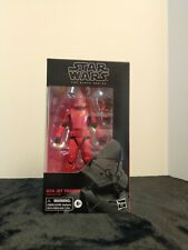 Hasbro Star Wars The Black Series Sith Jet Trooper Toy 6-inch Scale Mint