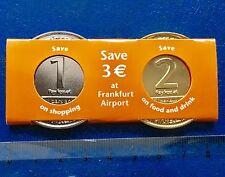 Collector Coin Medal Pièce Jeton Exclusive Frankfurt Airport Avion Plane Bar