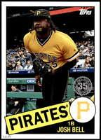 Josh Bell 2020 Topps 1985 35th Anniversary Series 2 5x7 #85TB-37 /49 Pirates