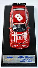 Alfa Romeo 155 V6 TI Winner DTM 1993 #8 Larini 1:43 BBR BG17