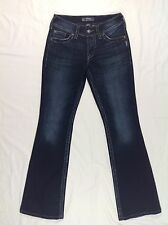 Silver SUKI SURPLUS Bootcut Flap Pocket Women's Jeans Sz. W26/L32 EUC