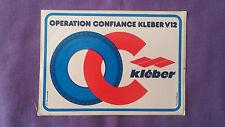 Autocollant StickerVintage « Kléber » Très Bon Etat