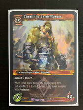 World of Warcraft WoW TCG Promo - Foil Thrall the Earth-Warder