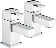 BRISTAN Quadrato Bath Taps Ceramic Disc Valves Chrome Plated QD 3/4 C Square