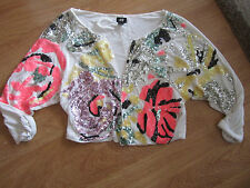 Crew Neck Crop Tops & Shirts Size Plus for Women
