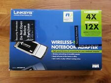 Linksys WPC300N Wireless-N Notebook Adapter, boxed with drivers