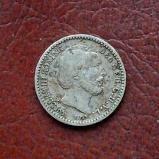 Netherlands 1887 silver 10 cents