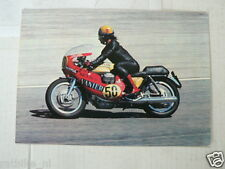 MOTO GUZZI 750 CC NO 50 VANIER KRAJKA MOTO GRAN PRIX VINTAGE ORIGINAL POSTCARD