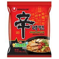 Free Shipping! Nongshim Shin Ramyun Noodle Soup, Gourmet Spicy, 4.2 Ounce