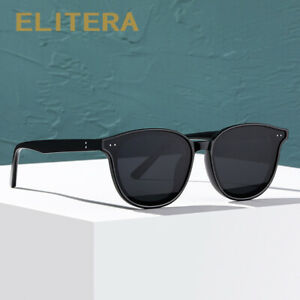 ELITERA Fashion Polarized Sunglasses Women Men  Square Frame UV400 Eyeglasses