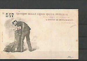 109623 / Rotes Kreuz Postkarte Medizin Italien